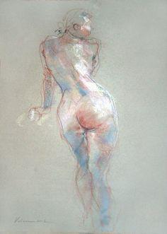 La féssée - Painting,  42x60 cm ©2006 by Raluca Vulcan -  Painting