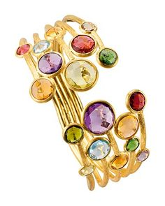 Marco Bicego Jaipur Color 5 Strand Cuff   Bloomingdale's