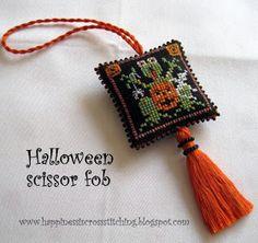 Tutorial to Finish an Ornament/Scissor Fob