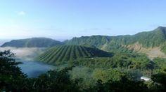 Volcanic Island of Aogashima