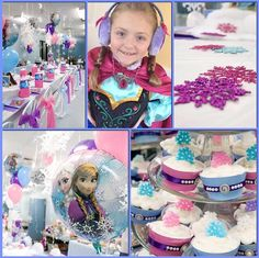 Disney Frozen Party  #ClarkImaginationsLLC #PoshParties