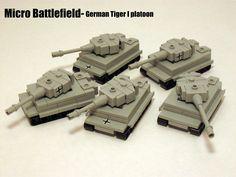 Mini Lego Tiger Tanks