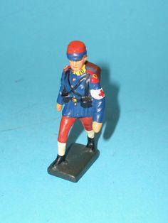 2363 – Lineol Franz. Sanitäter im Marsch 7,5cm Serie Sehr Gut | eBay