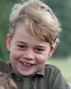 "Duchess Catherine Of Cambridge on Instagram: ""Prince George 💙"""