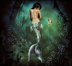 """Mermaid """"Miss Understood"""" by brandrificus.deviantart.com on @deviantART"""