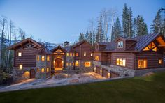 $8.9 Million Mountaintop Chateau in Mountain Village, CO. I Can Help You Find It Anywhere, Ask Me.
