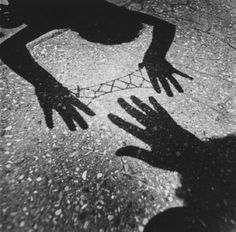 Shadow photography by Arthur Tress