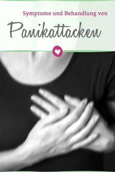 Wie sich Panikattacken äußern und was im Notfall hilft. #angst #panik #gesundheit