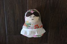 Wild Flower Matryoshka Nesting Doll Plush by uniqueextras on Etsy https://www.etsy.com/listing/232265933/wild-flower-matryoshka-nesting-doll