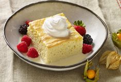 "Tres Leches Cake recipe from Pati's Mexican Table Season Episode 6 ""Fonda Favorites"" Mexican Food Recipes, Dessert Recipes, Mexican Desserts, Mexican Cooking, Cupcake Recipes, Sweet Recipes, Patis Mexican Table, Avocados From Mexico, Tres Leches Cake"