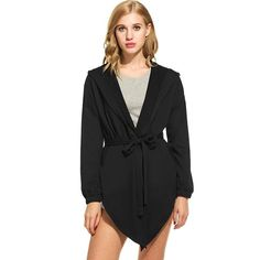 Womens Casual Hooded Belted Loose Fashion Coat$34.99  #me #cool #like4like #selfie #travel #instalike #followme #cute #fashionista #tagsforlikes #styleoftheday #hot #repost #instagood #smile #vscocam #fitness #nyc #fit #makeupaddict #girl #my #instafashion #tflers #follow #trend #blue #amazing #instagram #webstagram