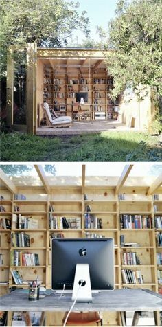 An Outdoor Open Air Library.