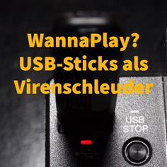 Wäre ein #WannaPlay-Virus für CD-Player denkbar? #CDJ #USB #wannacry