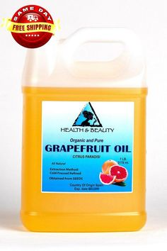 ORGANIC GRAPEFRUIT SEED OIL, REFINED,COLD PRESSED, 100% PURETHIS OIL SUITABLE FOR FOOD AND COSMETIC PURPOSEBotanical Name: Citrus ParadisiExtraction Method: Cold PressedProcessing Type: RefinedObtained From: SeedsOrigin: SpainOrganic: Made without pesticides, GMO's, or hexane.Ingredients: Grapefruit Seed Oil, 100% Pure with NO additives or carriers added.Description: Grapefruit Seed Oil is a substance derived from the seeds of grapefruit. Used as a broad-s #CelluliteCream Causes Of Cellulite, Cellulite Exercises, Cellulite Cream, Reduce Cellulite, Anti Cellulite, Cellulite Remedies, Thigh Cellulite, Cellulite Workout, Easy Workouts