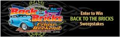 Travel Contests and Sweepstakes: Back to the Bricks® Cruise Weekend Sweepstakes (073113)