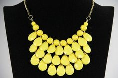 Sexton in the City Boutique Online Shopping Canada, Bubble Necklaces, Bridesmaids, Bubbles, Boutique, Chain, Yellow, City, Jewelry