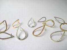 Oorstekers in zilver of 18kt goud, met of zonder diamant