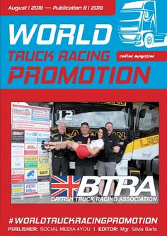 WORLD TRUCK RACING PROMOTION It is an Internet magazine that is published in digital form once a month. Its content focuses on the worldwide promotion and advertising of truck racing on race circuits as well as associated truck shows and truck festiv. Trailer Storage, Racing Events, Sale Promotion, Commercial Vehicle, Grand Prix, Online Marketing, Online Business, British, Trucks