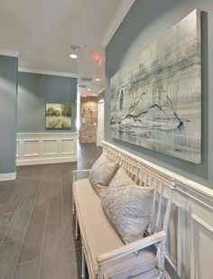 Sea Pines from Benjamin Moore. Heather Scott Home
