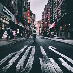 Chinatown New York  @estheticlabel remix by asteryx