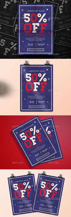 Labor Day Sale Labor Day FlyerThis Ai & PSD file set on 210 mm x 297 mm (A4)   bleed. 100 ready to print.You can easily change everything like color, image, text and elements Font used :Nexa Bold Homestead Don't forget to rate the files, thank you