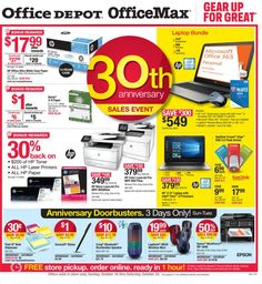Office Depot / OfficeMax Ad October 16 - 22, 2016 - http://www.olcatalog.com/office/office-depot-officemax-ad.html