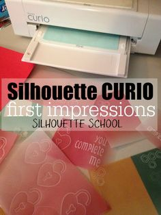 Silhouette Curio: First Impressions ~ Silhouette School