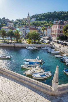 Croatia favourites, explore the amazing Hvar city on Hvar Island. Croatia Island Hopping, Hvar Island, Coron Island, Hvar Croatia, Visit Croatia, Vacation Places, Places To Travel, Places To Visit, Sumo