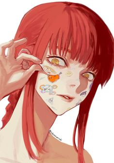 Art Manga, Anime Art Girl, Anime Manga, Fanarts Anime, Anime Characters, Kawaii Anime, Character Art, Character Design, Chainsaw
