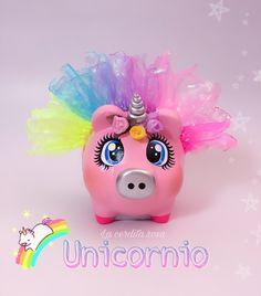 Color Me Mine, Piggy Banks, Pigs, Margarita, Mixed Media, Clay, Baby Shower, Ceramics, Crafts