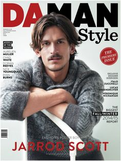 #JarrodScott covers #DaManStyle debut issue photographed by #MitchellNguyenMcCormack, and styled by #AlexaRangroummithGreen