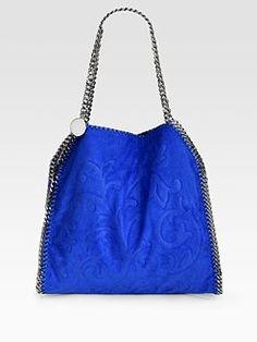 Stella McCartney - Falabella Small Embossed Tote Bag