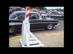 Pro street 57 Chevy at Back to the Fifties - YouTube