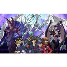 Yu-Gi-Oh! 3D Bonds Beyond Time llegará a Latinoamérica ❤ liked on Polyvore featuring accessories and bonds