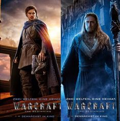 KHADGAR and MEDIVH - Warcraft Movie. - Raiditem.com