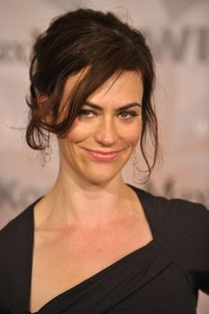 Maggie Siff - Mad Men & Sons of Anarchy. She's one beautifully talented actress.