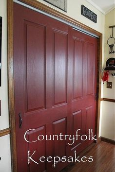 Behr Forbidden Red | Front Doors in 2019 | Front door ... - photo#28