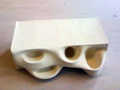 3D Printed Ceramic Brick _ Ronald Rael
