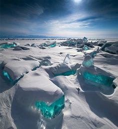 Turquoise Ice, Lake Baikal - Russia | Full Dose