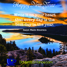 New Year's Day. A fresh start. A new chapter in life waiting to be written. New questions to be asked, embraced, and loved. Answers to be discovered and then lived in this transformative year of delight and self-discovery. Today carve out a quiet interlude for yourself in which to dream, pen in hand. Only dreams give birth to change.