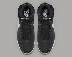 buy popular e942c a02cd Nike Air Force 1 OG QS Black Grey   Sole Collector