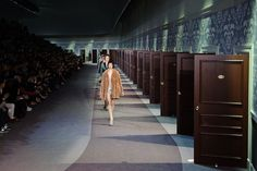 Louis Vuitton Fall 2013 like the door concept