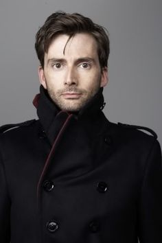 David Tennant. Because I love Doctor Who. And Scots. (Sidenote: that looks like an amazing jacket.)