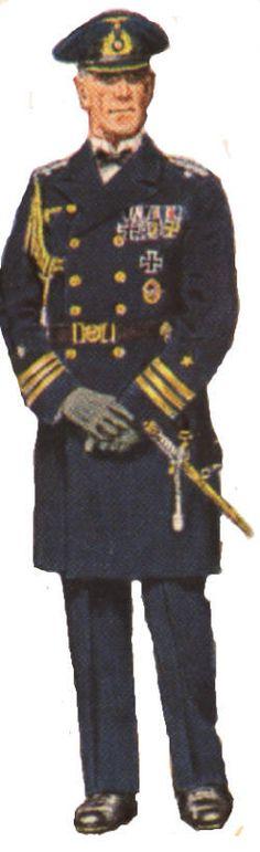 Kriegsmarine officers' ceremonial dress uniform