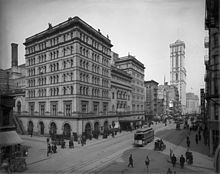 Metropolitan Opera House (39th St) - Wikipedia, the free encyclopedia.   It was located at 1411 Broadway, occupying the whole block between West 39th Street and West 40th Street on the west side of the street in the Garment District of Midtown Manhattan.