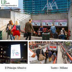 Il Principe Abusivo #ilprincipeabusivo #teatro #milano #italia #alessandrosiani #cristiandesica #adv #advertising #media #upgrade #upgrademedia www.upgrademedia.it