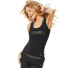 Fabtastic Instructor Racerback | Brand New ZumbaWear Gold collection save 10% with affiliate code 10SALE on zumba.com  http://www.zumba.com/user/affiliates/affiliate-shop/?affil=10sale