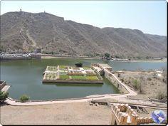 Viagens e Beleza: Maota, o lago com jardins de açafrão, em Jaipur
