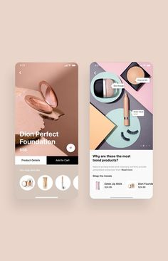 Cosmo Beauty App UI Kit is a pack of delicate UI design screen templates that will help you to design clear interfaces for beauty / cosmetic shopping app faster and easier. Compatible with Sketch App, Figma & Adobe XD Card Ui, Makeup App, Cosmo, Cosmetic Shop, Banner, App Ui Design, Ui Elements, Ui Inspiration, Ui Kit