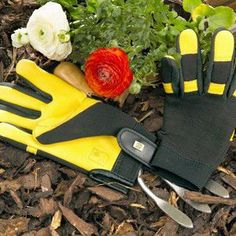Gold Leaf Soft Touch Gloves are packed full of features as you'd expect from Gold Leaf and are arguably the most comfortable and luxurious gardening gloves on the market today, used by both professional and amateur gardeners.